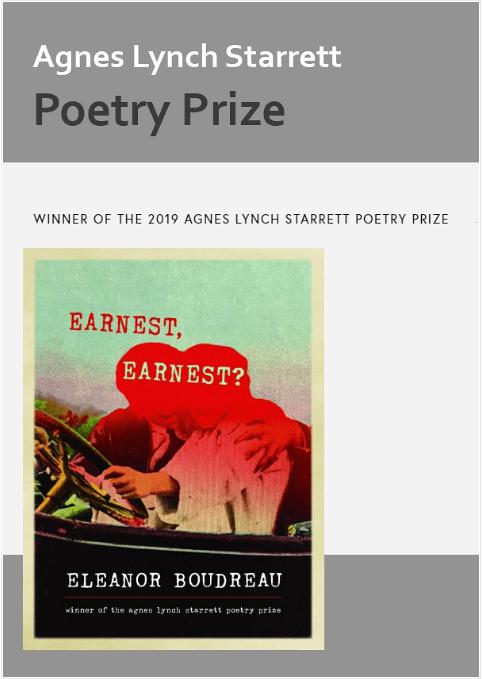 Agnes Lynch Starrett Poetry Prize 2021